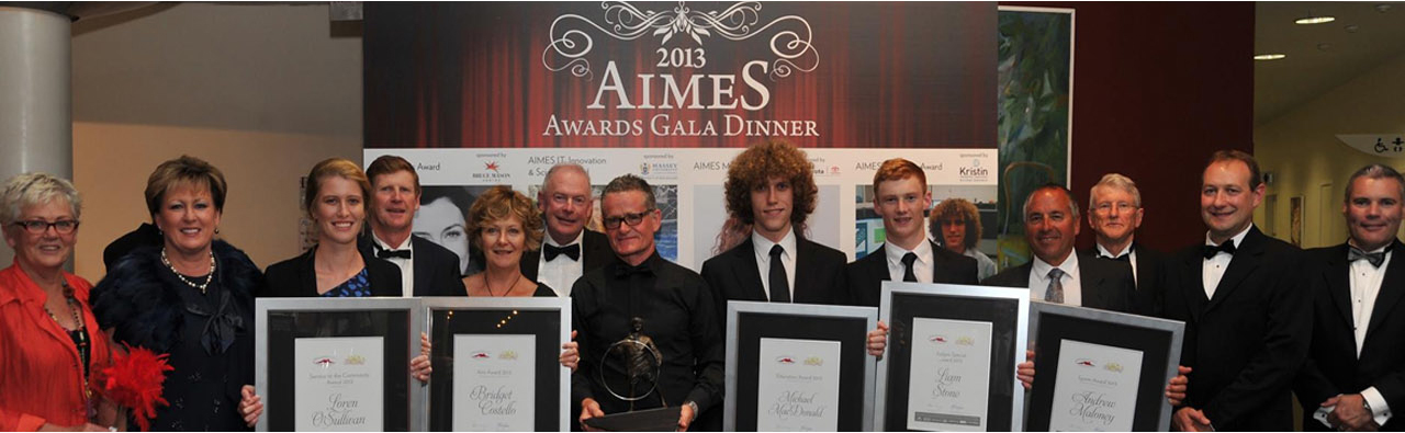 2013 AIMES Awards Recipients